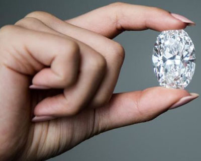 The 102.39-Carat Diamond, Perfect in Every Way.