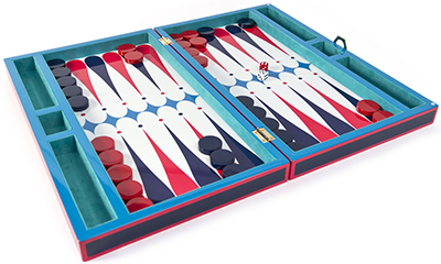 Jonathan Adler Lacquer Backgammon Set: US$395.