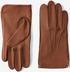 Allen Edmonds men's Deerskin Unlined Gloves: US$95.