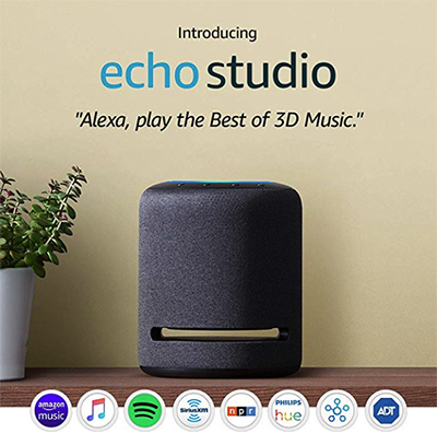 Amazon Echo Studio: US$$199.99.