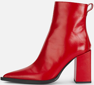 AMI women's Zipped Boots With Block Heel: US$690.