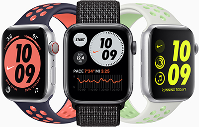 Apple Watches Nike.