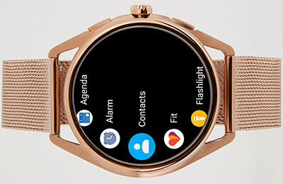 Emporio Armani Stainless steel touchscreen smartwatch: US$395.
