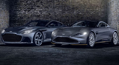 Aston Martin taps into 007 hype with special edition Vantage and DBS Superleggera.