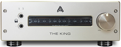 Audeze The King MKII Class-A Hybrid Tube/Mosfet Headphone Amplifier: US$3,495.