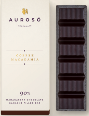 Aurosó Coffee Macadamia chocolate: £7.50.