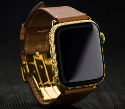Aurum Edition Apple Hermès Watch Series 4.