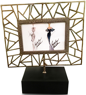 Badgley Mischka Juliana Photo Frame - 8X10: US$325.