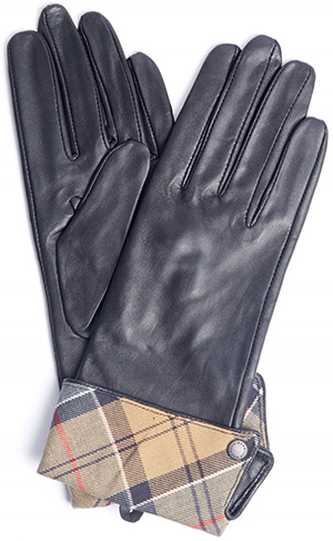 Barbour women's Lady Janes leather gloves.