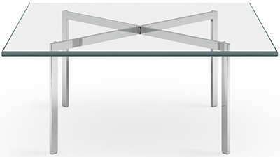 Barcelona Table by Ludwig Mies van der Rohe (1929): US$1,745.