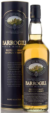Barrogill Blended Highland Malt Whisky.