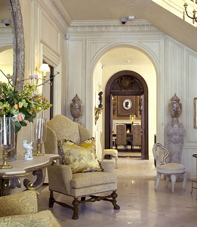Embassy Elegance Interior. Designed by Barry Dixon.