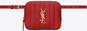 Yves Saint Laurent women's Vicky belt bag in quilted lambskin: US$1,250.