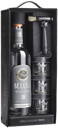 Beluga Vodka Gold: CHF195.