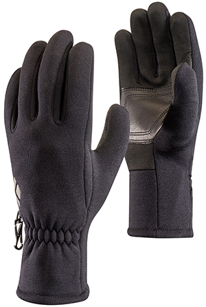 Black Diamond HeavyWeight ScreenTap men's fleece gloves: €45.