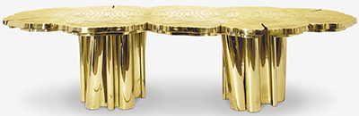 Boca Do Lobo Fortuna Dining Table.