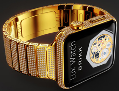 Brikk Lux Watch Omni 18K Yellow Gold.