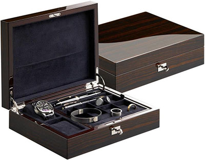 Buben & Zorweg Vantage Gentleman's Multi Storage Case in Carbon: US$1,980.