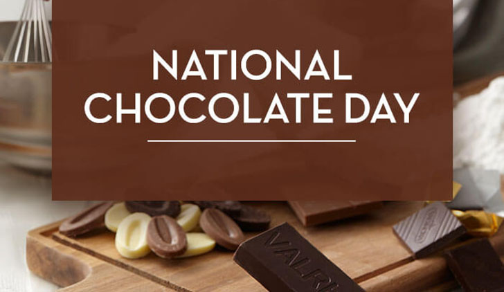 National Chocolate Day.