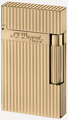 S.T. Dupont Yellow Gold Finish Lighter.