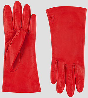 Escada women's x Rita Ora - Leather Gloves: US$275.