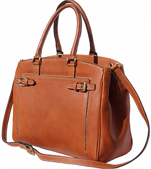 Florence Leather Market women's Shoulder Bag in Smooth Leather: €214.80.