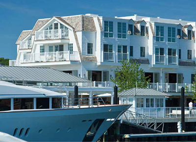 Forty 1° North Hotel & Marina Resort, 351 Thames Street, Newport, RI 02840.