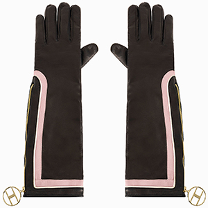 Elisabetta Franchi women's long gloves: €284.