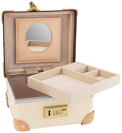 Globe-Trotter Safari 9-inch Jewellery Case – Ivory/Natural: £1,135.