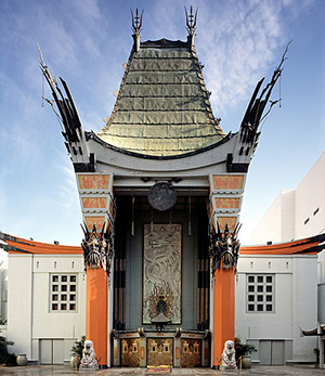 Grauman's Chinese Theatre, 6925 Hollywood Blvd., Hollywood, California, U.S.A.