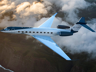 Gulfstream G700. Price: US$75 million.