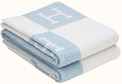 Hermès Avalon Bath towel (100% combed cotton): US$230.