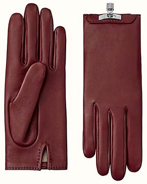 Hermès women's Soya gloves: US$1,000.