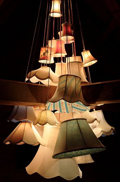 26 cluster chandelier by James Plumb.