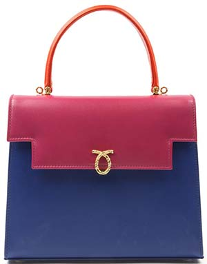 Launer Traviata - Multi-colour women's top-handle handbag: US$2,414.