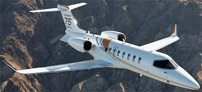 Learjet 75 Liberty.