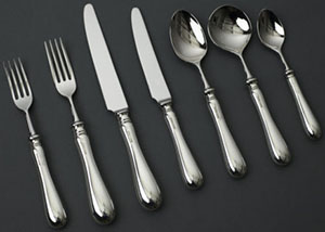 Legacy Silverware Old English Sterling Silver Set: £399.95.