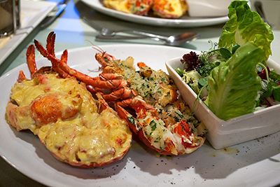 Lobster Thermidor. Photo: thefoodplace.co.uk.