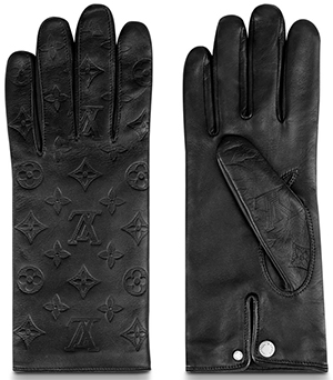 Louis Vuitton Monogram Shadow Classic men's Gloves: US$960.