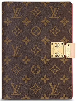 Louis Vuitton Notebook Cover Paul MM: US$545.