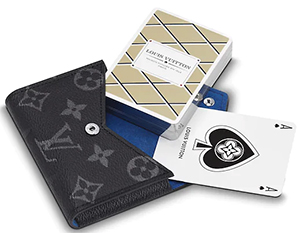 Louis Vuitton Playing Cards: US$485.