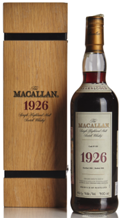 The Macallan Fine and Rare 60 Year Old 1926.