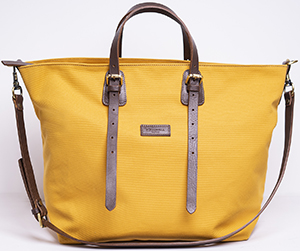 E.Marinella women's Shopping bag canvas & leather: €230.