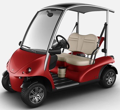 Garia Monaco 2-seater golf car.