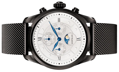 Montblanc Summit 2 Black Steel Milanese Edition: US$1,250.