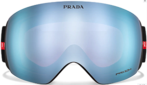 Prada Linea Rossa for Oakley snow goggle.