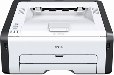 Ricoh SP 213Nw Black and White Laser Printer.