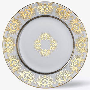 Ritz Paris Essentials Plate, 'Imperial' Collection, White: €168.