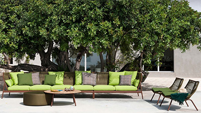 Roda outdoor furniture.