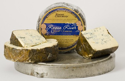 Rogue River Blue Cheese cheese.